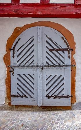 historic door in wertheim