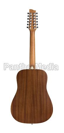 back side of 12 string acoustic
