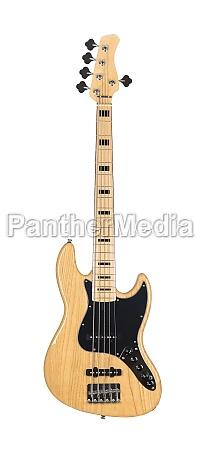 electric bass guitar