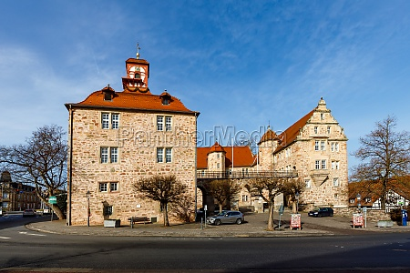the landgrave castle of eschwege in