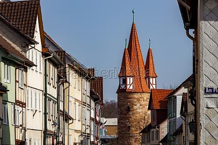 the historic watch tower of eschwege