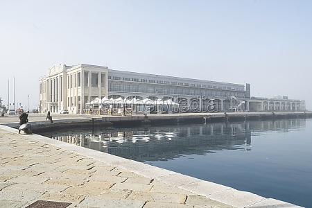 the maritime station in trieste