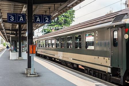 bellinzona railway station in bellinzona switzerland