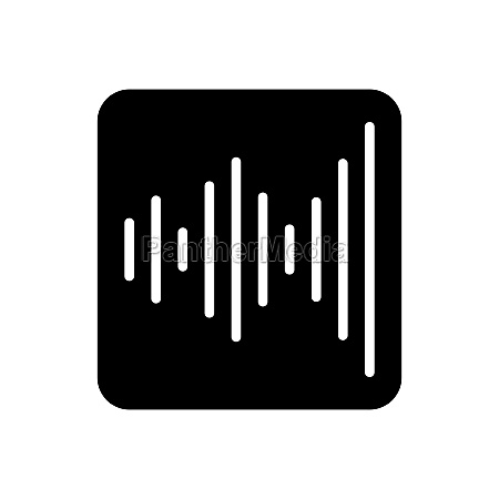 equalizer frequency vector icon audio signal