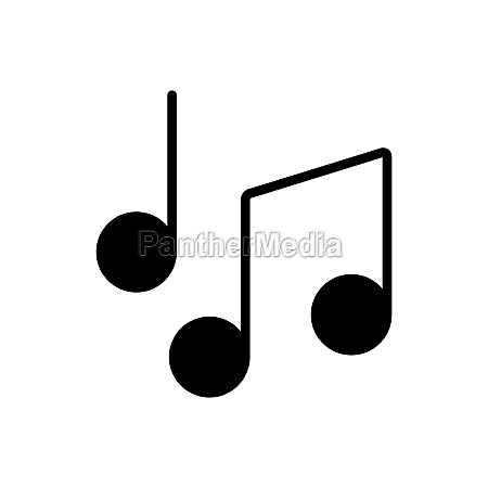 music notes song melody or tune