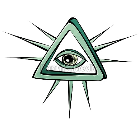 all seeing eye mystic sign