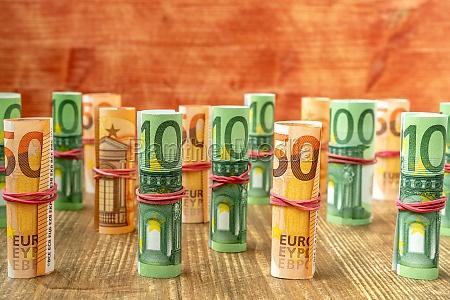 cash money euro bills