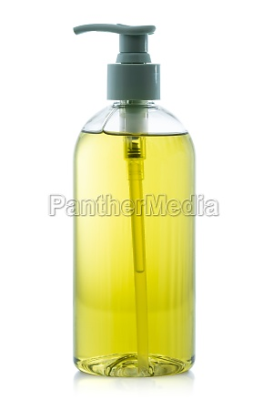 bottle of liquid antibacterial soap