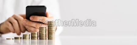 save money in piggybank mobile banking