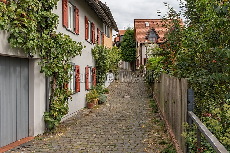 small street in the old town