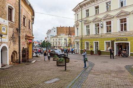 old old town in vilnius