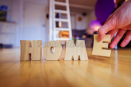 new home arranging home letters