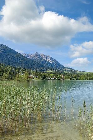 lake walchsee tirol austria