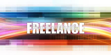 freelance corporate concept