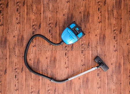 vacuum cleaner on the floor in