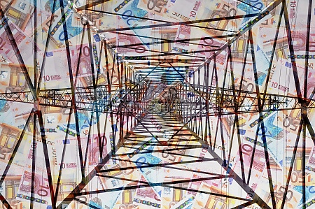 power pole money banknotes