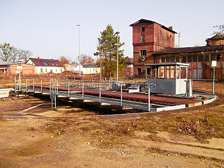 a former marshalling yard with a