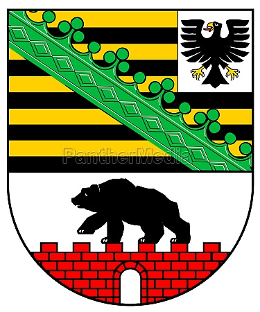 coat of arms of saxony anhalt