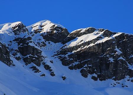 mount vorab in winter