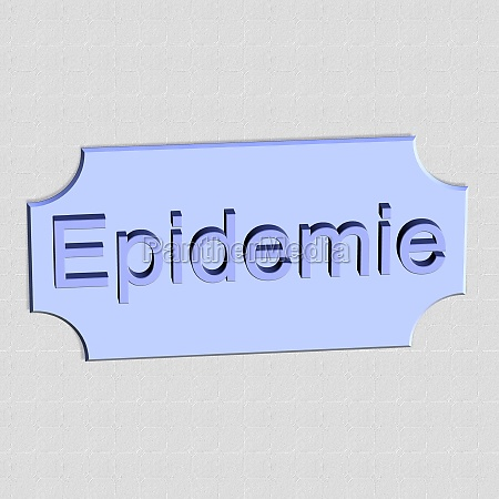 epidemic word or text as