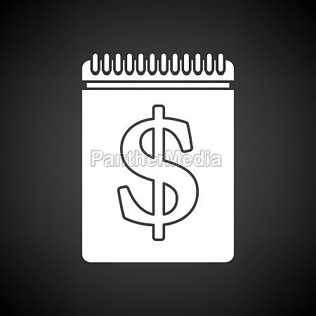 dollar calendar icon