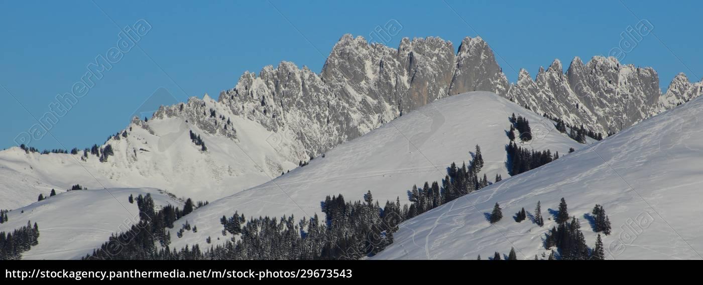 gastlosen, in, winter., rugged, mountains, in - 29673543