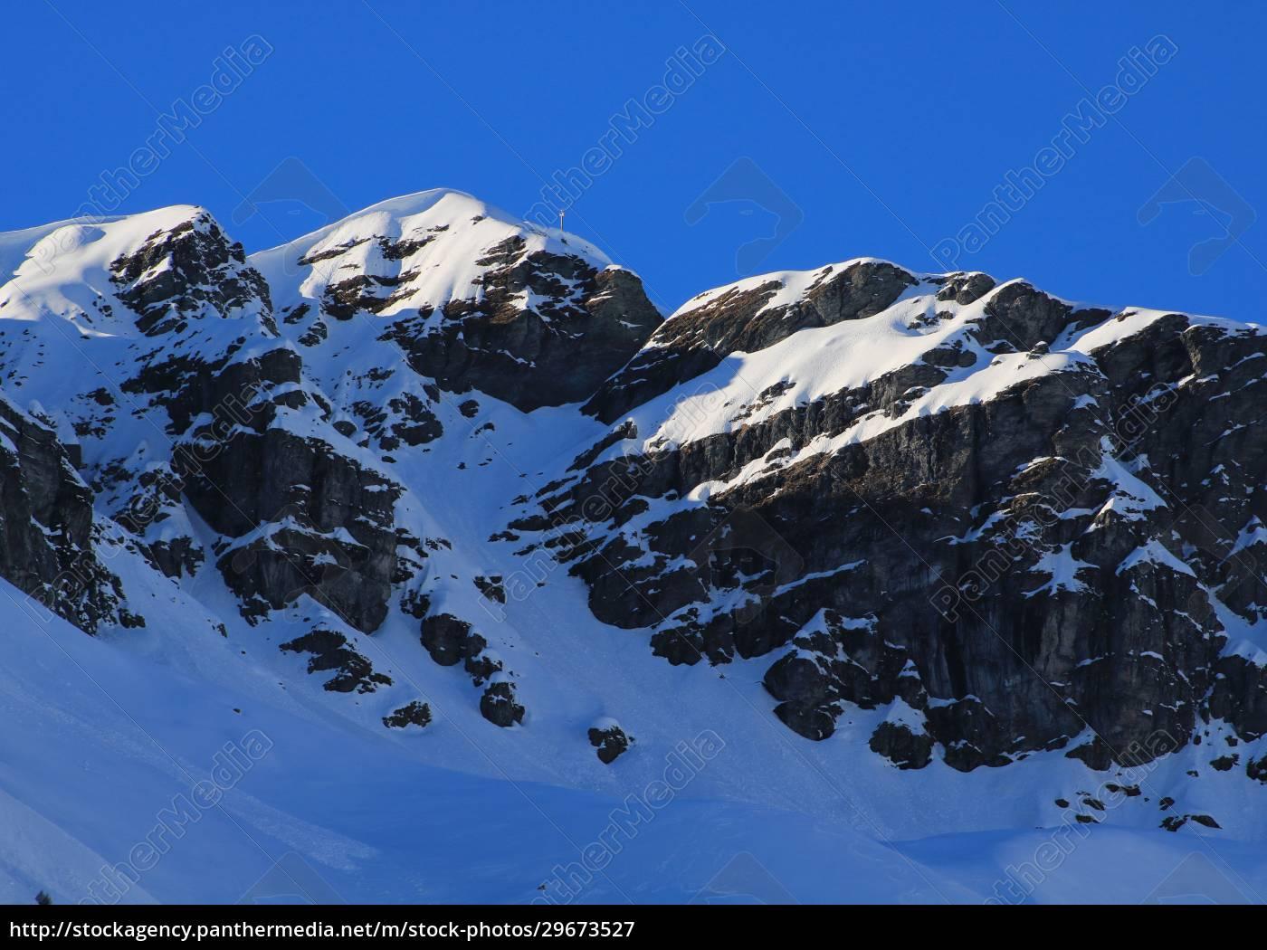 mount, vorab, in, winter. - 29673527