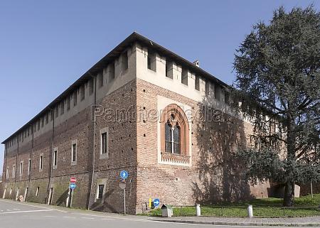 visconteo castle bereguardo