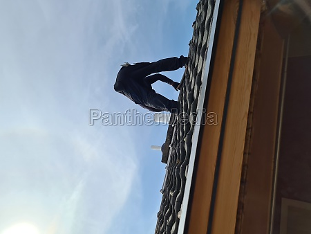roofers on the roof