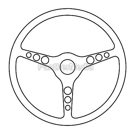 soortscar steering wheel