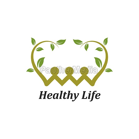 healthy, life, people, , logo, template - 29676680