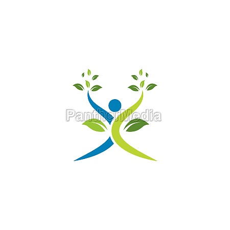 healthy, life, people, , logo, template - 29676692