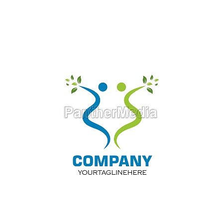 healthy, life, people, , logo, template - 29676693