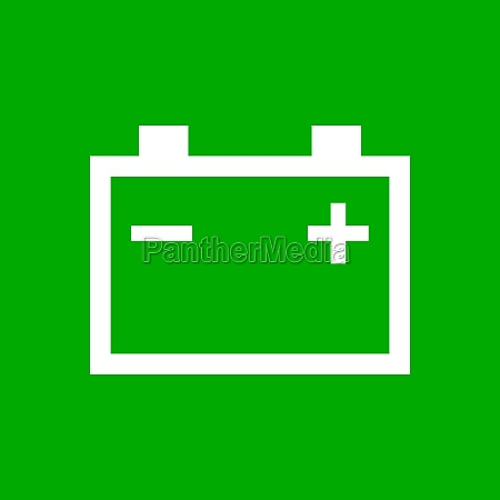 car battery and background