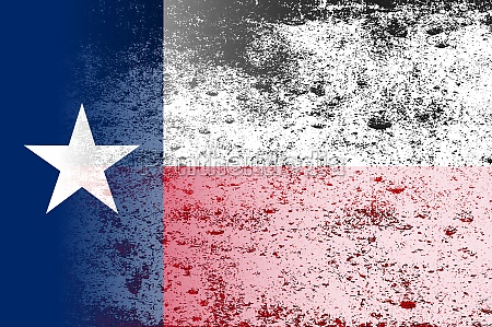 faded texas state flag