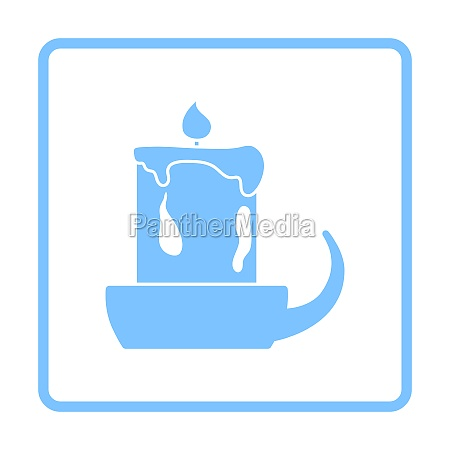 candle in candlestick icon