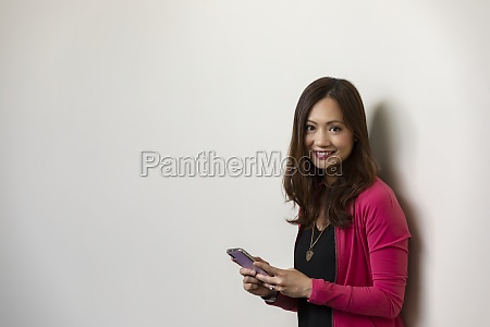 a professional mature asian business woman