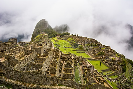 the sacred city of machu picchu