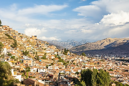 hills of the city of cusco