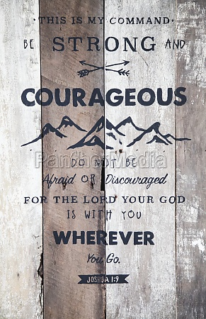 bible verse on barn board sign