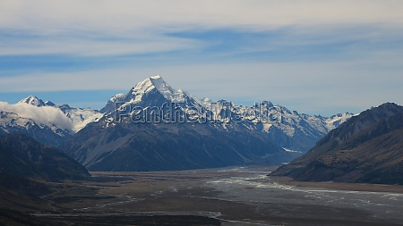 mount cook and other mountains of