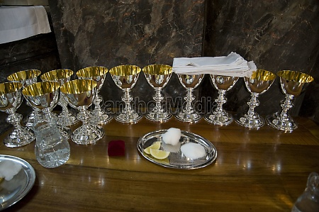 chalice at a holy communion