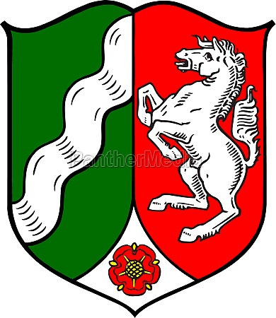 coat of arms of north rhine
