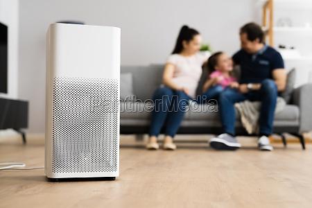 air purifier modern health technology
