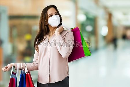 customer in fashion store