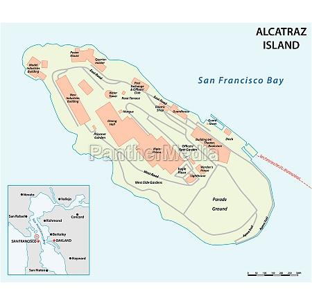 vector map of californias former prison