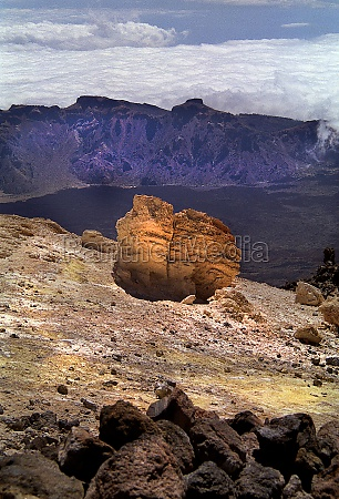rocks and mountains on tenerife