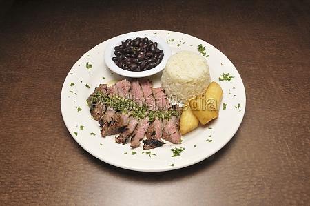 delicious churrosco steak