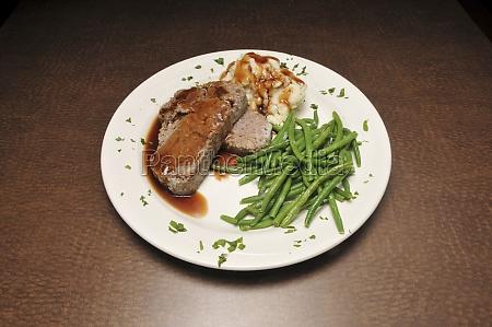 delicious succulent meatloaf