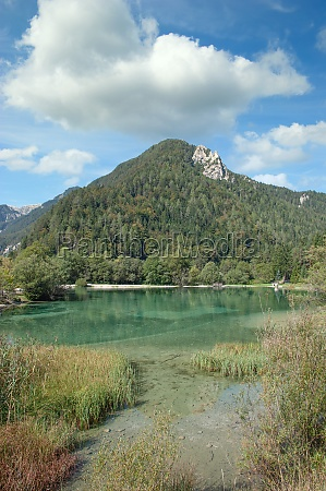 lake jasna triglav national park slovenia